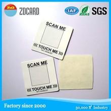Roll pack rfid nfc ntag203 sticker/label/tag
