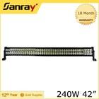"Offroad SUV UTV ATV 42"" led light bar 240w"