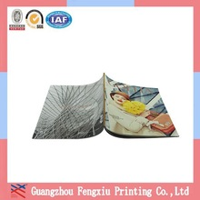 Promotional 157G Matte Art Paper Gold Hot Stamping Book Printing
