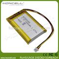 923450 3.7v 1800 mah batería lipo 3.7v tablet pc de la batería