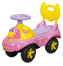Color activity Cartoon ride-on foot to floor YH-831 Pink