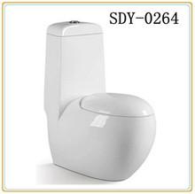 Hight quality ceramic Sanitary ware toilet bowl one piece washdown toilet wc Bathroom big size toilet