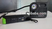12v 13600mah battery jump booster pack mini air compressor