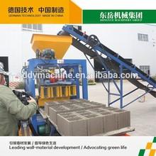2014 Best sell QT4-24 tanzania cement brick making machine price