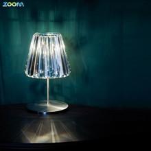 Modern luxury design 5 star hotel guest room crystal chandelier table lamp