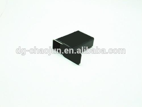 รูปร่างสี่เหลี่ยมสีดำที่มีการรับรองiso