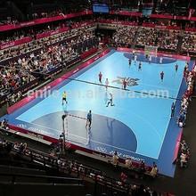 Polyvinyl chloride handball sports floor/both indoor and outdoor