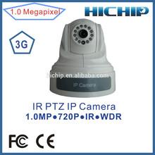 Hichip High quality HD 720P 3G sim slot IP Camera Wireless support 32GB SD Card
