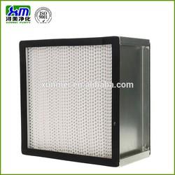 deep pleated H12 HEPA filter for HVAC manufacturer