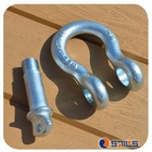 forged screw pin bow commercial u.s. shackles