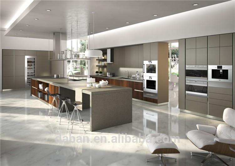 ... Keuken : Amerikaanse stijl luxe keuken eiland met moderne ontwerpen