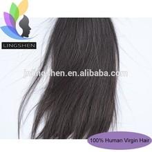 Lingshen Wholesale 100% Pure Cheap Raw Indian Virgin Human Hair