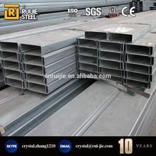 c channel steel/c channel standard sizes/galvanized steel c channel