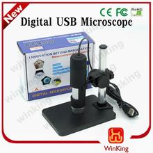 600x usb microscopio digital 8 2mp led con pantalla lcd lupa endoscopio usb de la cámara digital microscopio zoom 50x-600x