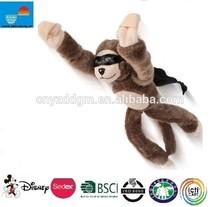 Best kid toy for 2015 stuffed flying animal brown monkey new soft toys wholesale stuffed monkey plush flying monkey
