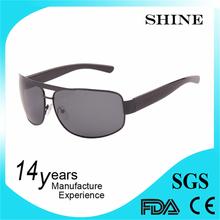 private label custom glass free samples simple metal pilot sunglasses
