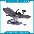 Ag-s102c con pedal de pie para controlar las funciones de ajuste de ginecólogo silla