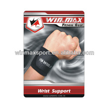 New design black color waterproof neoprene wrist support,sports safety wrist band basketball/tennis/cycling wrist support