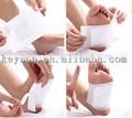 almofadas do pé de eliminar toxinas