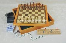 wooden bingo game set wooden boarn game