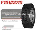 Duraturn, Linglong / leao, Triângulo marca de pneus de radial truck pneu 11r22.5 11r24. 12r22