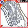 Guangzhou custom factory price colored metal ball chain