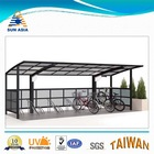 Taiwan uv resistant polycarbonate solid sheet for carport, car shelter