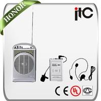 ITC T-6020 45W VHF Portable Amplifier Wireless Microphone Speaker