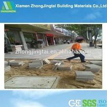 Precio barato materiales de construcción permeable exterior piso azulejo