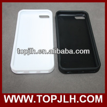 Direct factory TPU sublimation blank case for Iphone 5