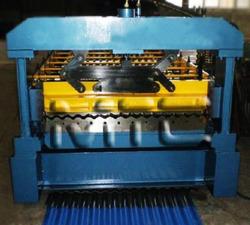 Building construction zinc corrugated making machine