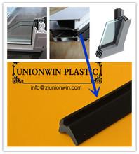 glazing seals, PVC/ rubber/ EPDM glass seal