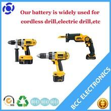 7.2v lithium battery dewalt power tools battery Ni-MH2.0Ah-3.3Ah for cordless drill