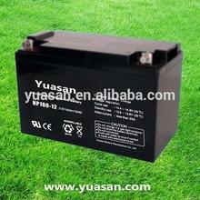 12V 100AH Yuasan Super AGM Battery Rechargeable Sealed Lead Acid VRLA Battery for UPS -NP100-12