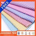 colorido guinga vestido de tela de verificación chirlenmulti tela de algodón a cuadros