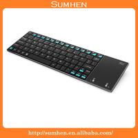 Slim Rii i12 2.4G Wireless Mini Keyboard with Touchpad for Laptop PC TV Box UK