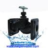 high performance manual stainless steel cast iron globe valve