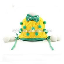 Fashionable Lovely kids children crochet hat for Autumn/winter