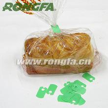 Green Plastic Bread Bag Clips Kwik Lock Bag Closure