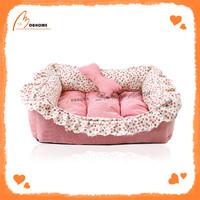 Special design cute China pet unique pink bed