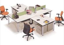 office workstation/4 people office desk