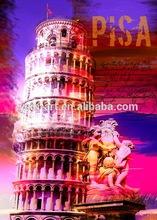 Pisa famous canvas print