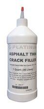 Asphalt Thin Crack Filler, 1 qt., Black- Xi'an Yamatake