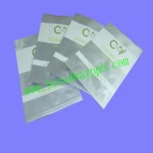 label custom printed heat seal pure aluminium foil bag for cosmetic sample