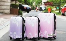 Fashion Girls Purple Pink Luggage Girls Rolling Luggage Customized Also