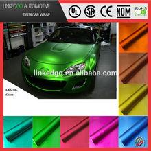 Custom car body sticker 1.52*20m vinyl car wrap with air bubble channel car wrapping