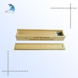 New arrival wooden pencil box, wooden sliding box, mdf sailing writing box