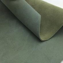 Genuine suede split shoe leather material
