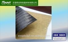 single side reinforced black PVC scrim kraft paper ( flame retardant) foil insulation