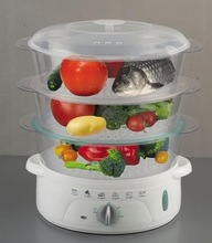 Perfect cooking in deed food steamer for US market